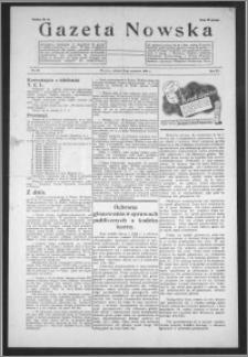 Gazeta Nowska 1938, R. 15, nr 39