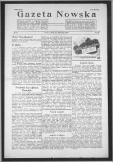 Gazeta Nowska 1938, R. 15, nr 40