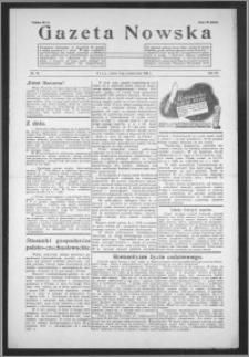 Gazeta Nowska 1938, R. 15, nr 42