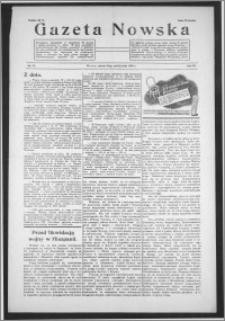 Gazeta Nowska 1938, R. 15, nr 43