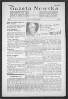 Gazeta Nowska 1938, R. 15, nr 47
