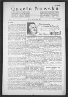 Gazeta Nowska 1938, R. 15, nr 49
