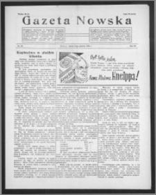 Gazeta Nowska 1938, R. 15, nr 50