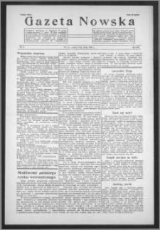 Gazeta Nowska 1939, R. 16, nr 6