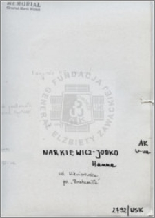 Narkiewicz Jodko Hanna