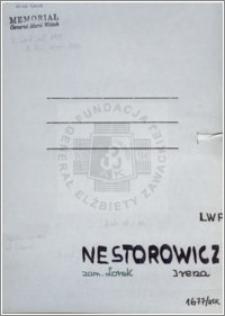 Nestorowicz Irena