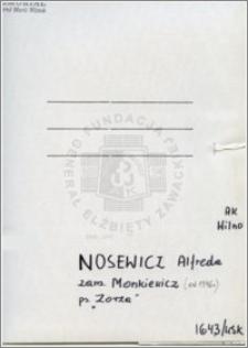 Nosewicz Alfreda