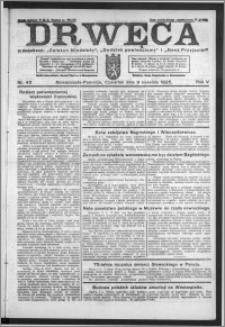Drwęca 1925, R. 5, nr 43
