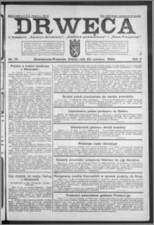 Drwęca 1925, R. 5, nr 72