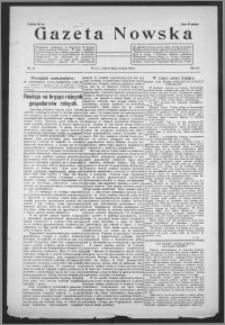 Gazeta Nowska 1932, R. 9, nr 34