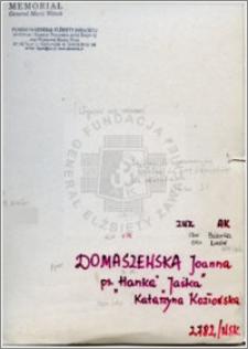 Domaszewska Joanna