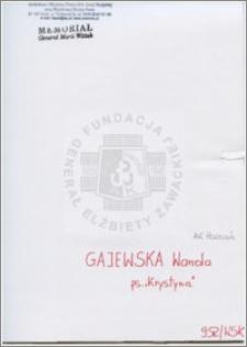 Gajewska Wanda
