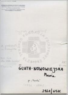 Gluth Nowomiejska Maria