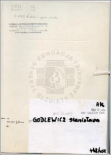 Godlewicz Stanisława