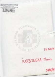 Karbowska Maria