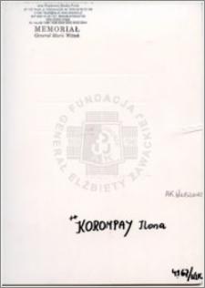 Korompay Ilona