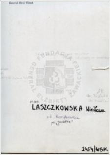Laszczkowska Wiesława