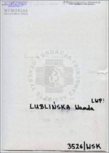 Lublińska Wanda