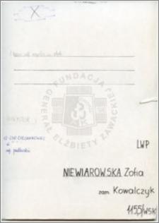 Niewiarowska Zofia