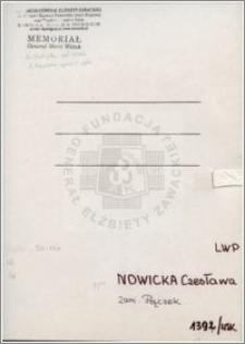 Nowicka Czesława