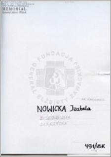Nowicka Izabela