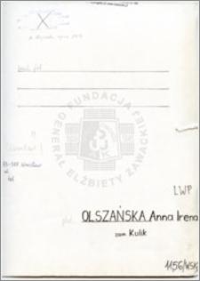 Olszańska Anna Irena