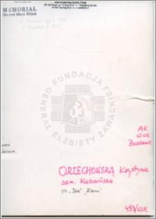 Orzechowska Krystyna