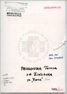 Pawłowska Teresa