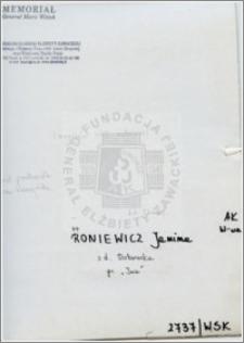 Roniewicz Janina