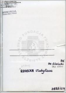 Rusiecka Władysława