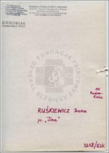 Ruśkiewicz Irena