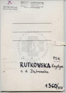 Rutkowska Krystyna