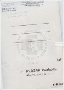 Rydzak Barbara