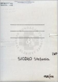 Siodło Stefania