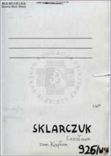 Sklarczuk Czesława
