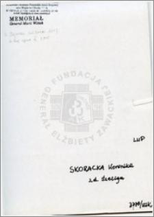 Skoracka Weronika