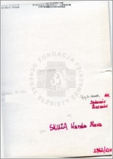 Skuza Wanda Maria