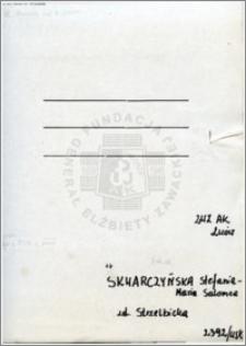 Skwarczyńska Stefania Maria Salomea
