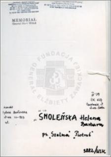 Smoleńska Helena Barbara