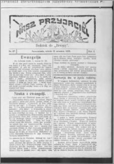 Nasz Przyjaciel 1925, R. 2, nr 37