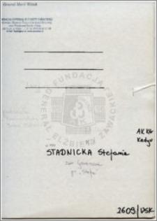 Stadnicka Stefania