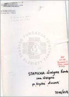 Stanicka-Wielgosz Wanda