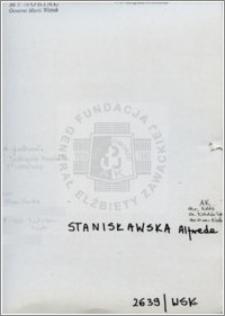 Stanisławska Alfreda