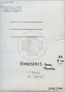 Staniszkis Anna Danuta