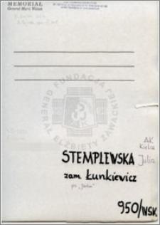 Stemplewska Julia