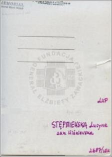 Stępniewska Lucyna