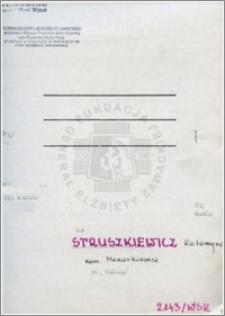 Struszkiewicz Katarzyna