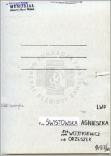 Świstowska Agnieszka