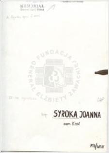 Syroka Joanna