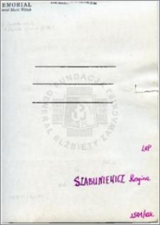 Szabuniewicz Regina